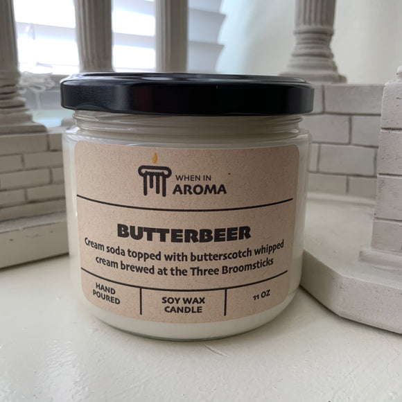 11 oz Butterbeer Soy Candle