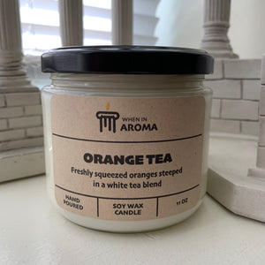 11 oz Orange Tea Soy Candle