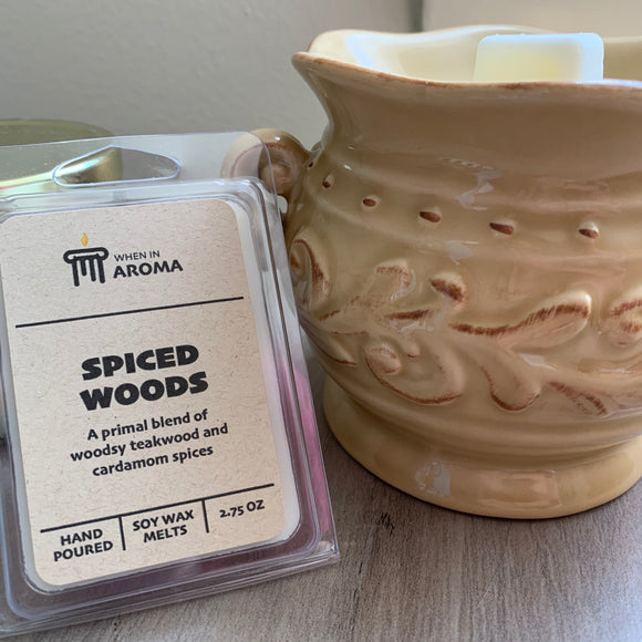 Spiced Woods Soy Wax Melt