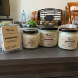 Various sizes of Enchanted Soy Candles