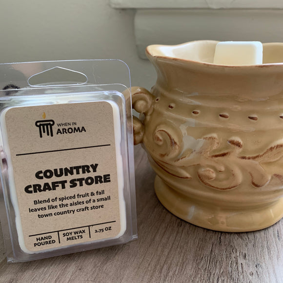 Country Craft Store soy wax melt