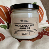 Maple Glazed Apples Soy Wax Candle 7 oz