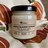 Maple Glazed Apples Soy Wax Candle 4 oz