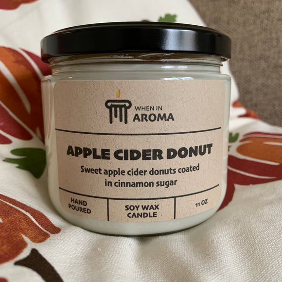 Apple Cider Donut soy candle 11 oz