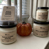 Various sizes of Maple Glazed Apples Soy Wax Candles