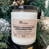 Christmas tree 15 oz soy candle