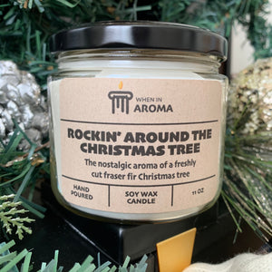 Christmas tree 11 oz soy candle