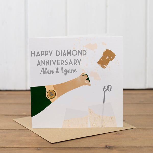 Personalised Special Anniversary Card - Yellowstone Art Boutique