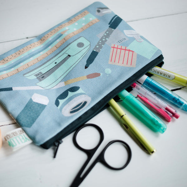 Stationery Pencil Case - Yellowstone Art Boutique