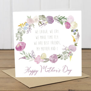Best of Friends Mother's Day Card