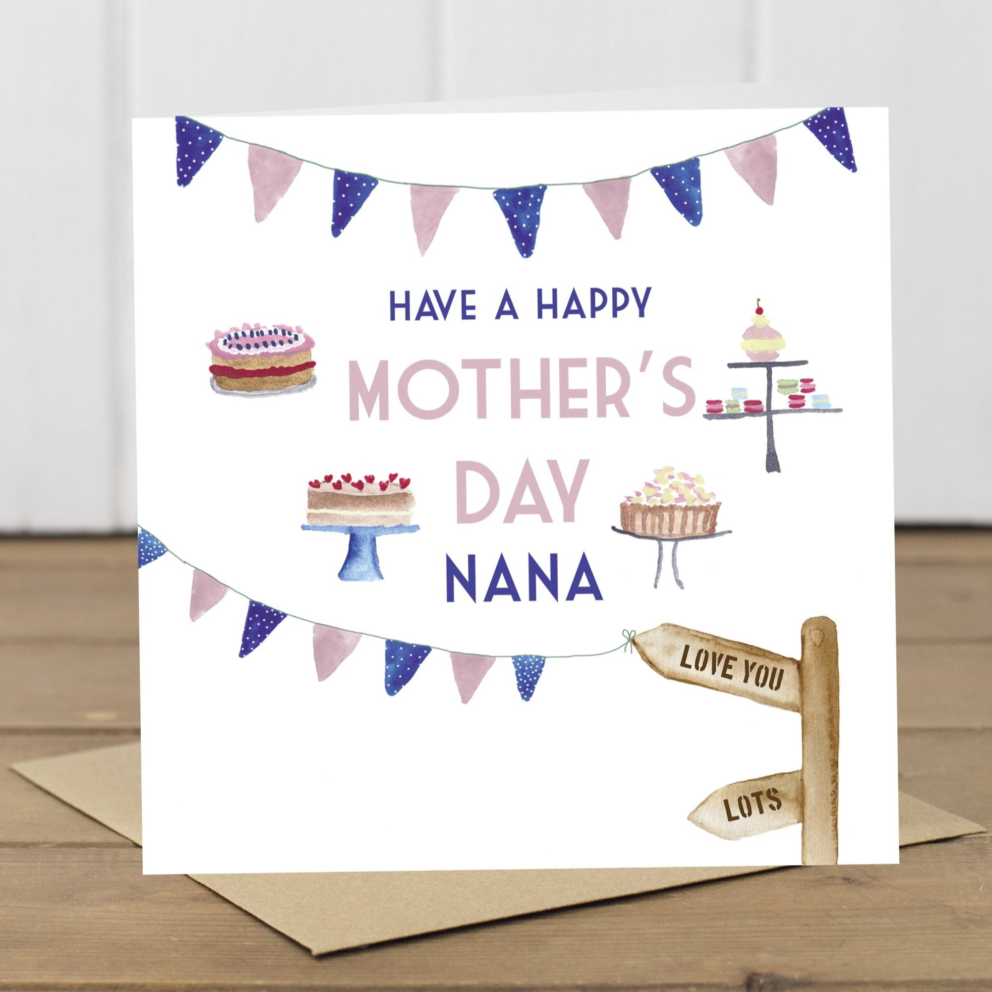 Nana Cakes Mother's Day Card