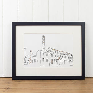 Middleport Pottery Art Print - Yellowstone Art Boutique