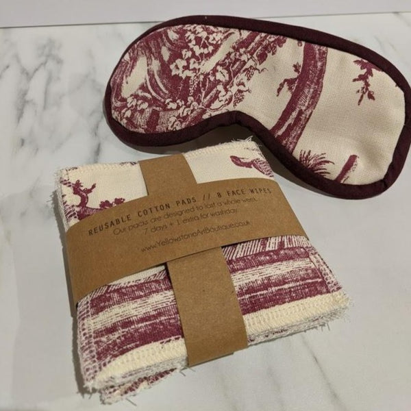 Cotton Pad & Eye Mask Set - Yellowstone Art Boutique