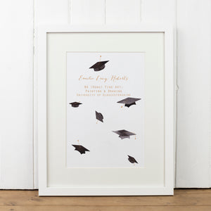 Personalised Graduation Print - Yellowstone Art Boutique