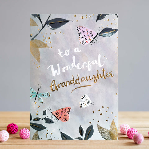 Granddaughter Happy Birthday Card