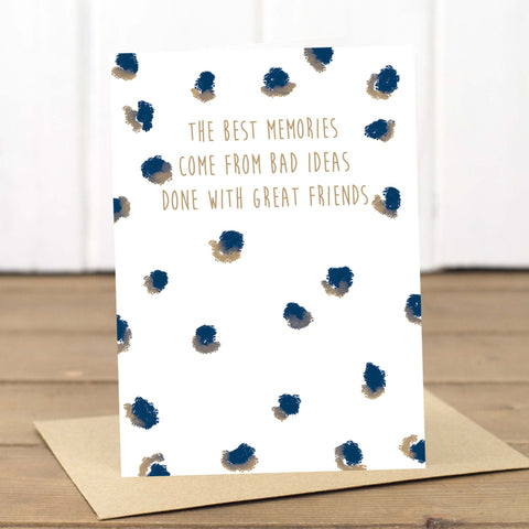 Great Friends Blank Card - Yellowstone Art Boutique