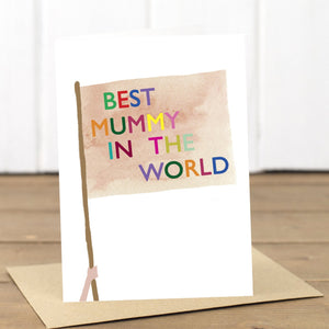Best Mummy Flag Card - Yellowstone Art Boutique