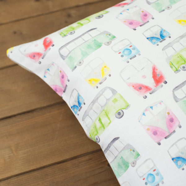 Campervan Cushion - Yellowstone Art Boutique