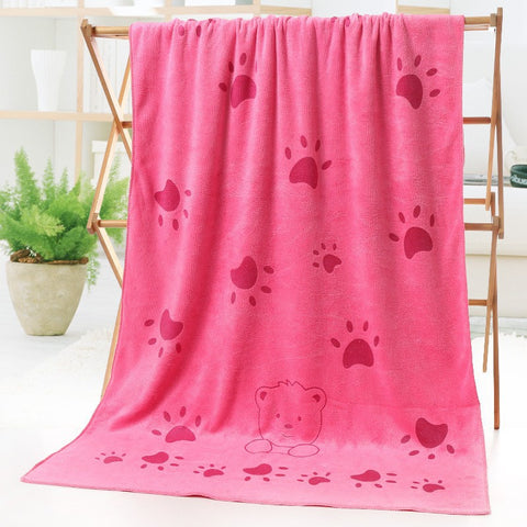 Extra Large Microfiber Pet Bath Towel