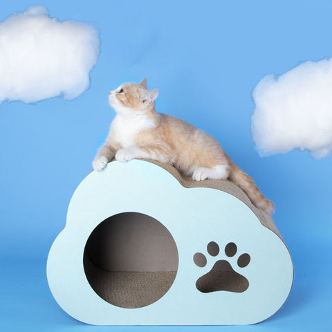 Cloud Cat Scratcher Board