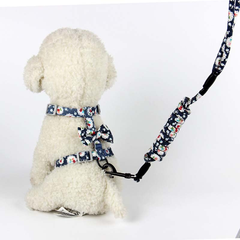 Adjustable Japanese Style Pet Harness and Leash