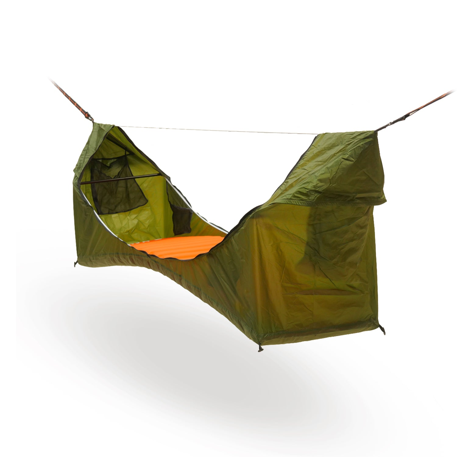 Outdoor multifunctional hammock tent