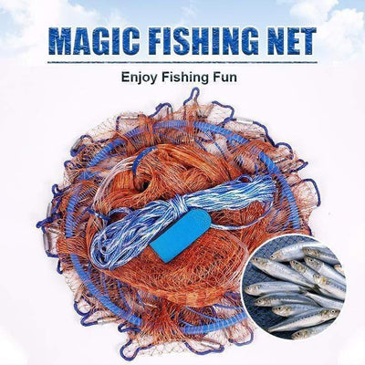 9ofup Accessories 10FT Magic Fishing Net