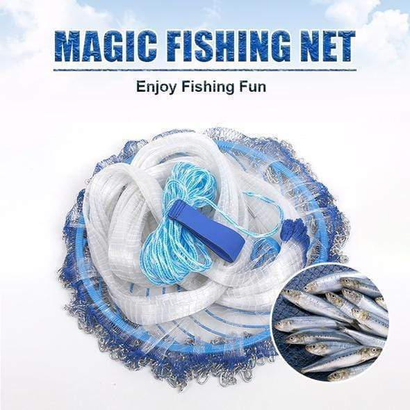9ofup Accessories 8FT Magic Fishing Net
