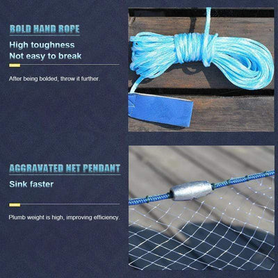 9ofup Accessories Magic Fishing Net