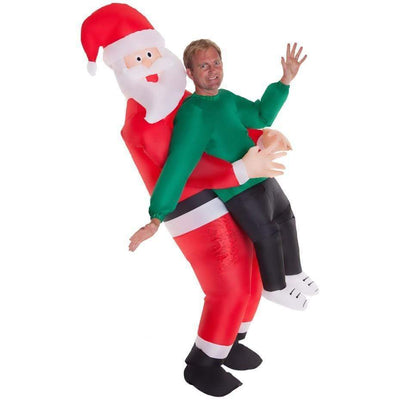 hoplyn CG (Christmas promotion)Santa Claus Carrying Human Costume