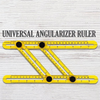 Multi-Angle Four Folding Ruler