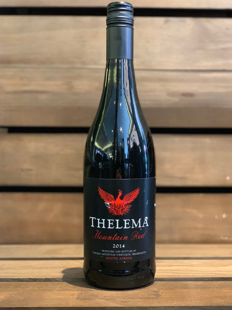 2014 Mountain Red Blend, Thelema-Shiraz - Layalina Deli and Organic Grocery