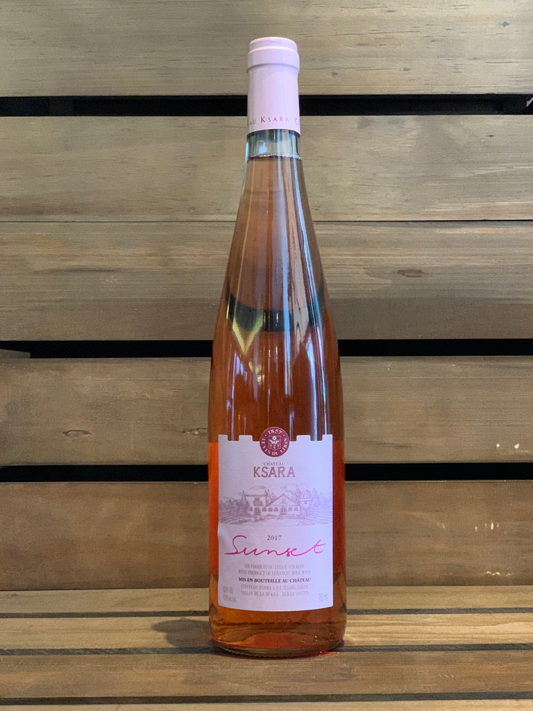 Chateau Ksara Sunset Rose, 2016, Lebanon - Layalina Deli and Organic Grocery