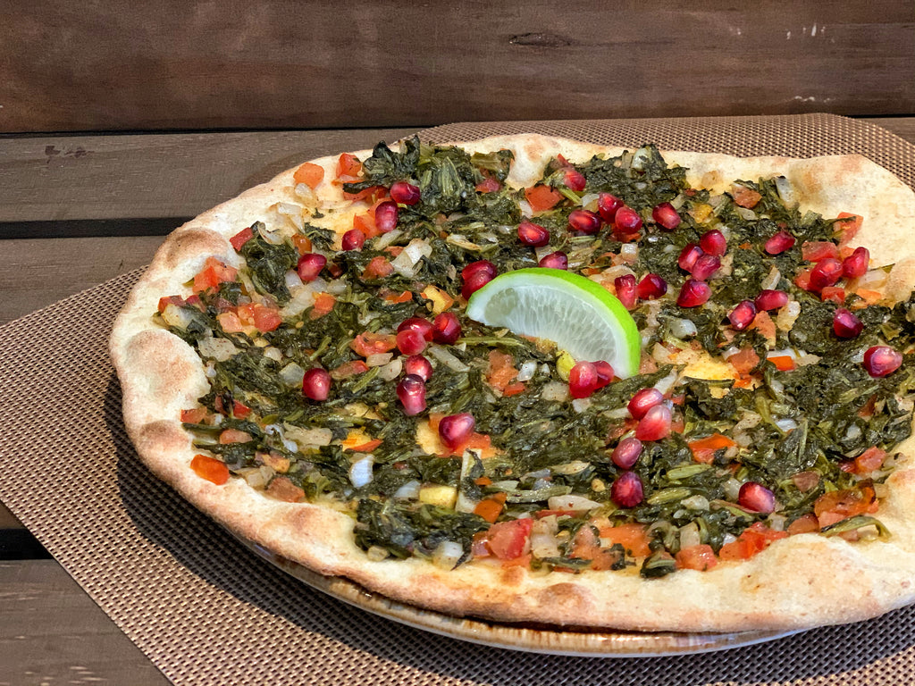 Spinach Pizza (VG) - Layalina Deli and Organic Grocery