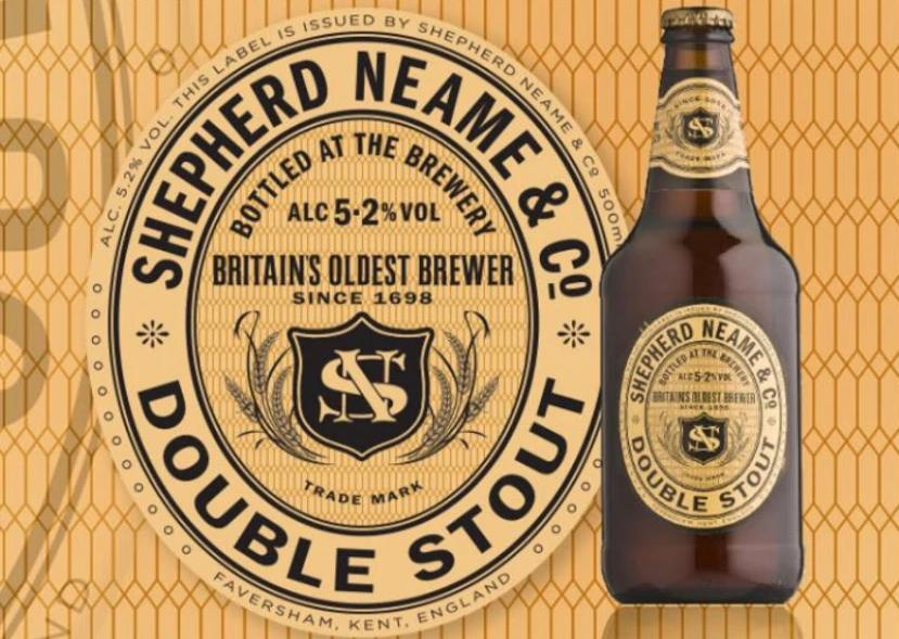Shepherd Neame Double Stout 5.2% (500ml)