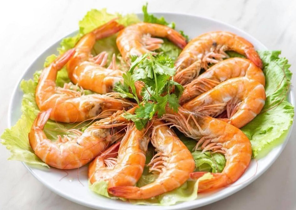 Boiled King Prawn 白灼虾