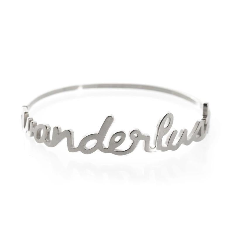 Wanderlust + Co Wanderlust Bangle
