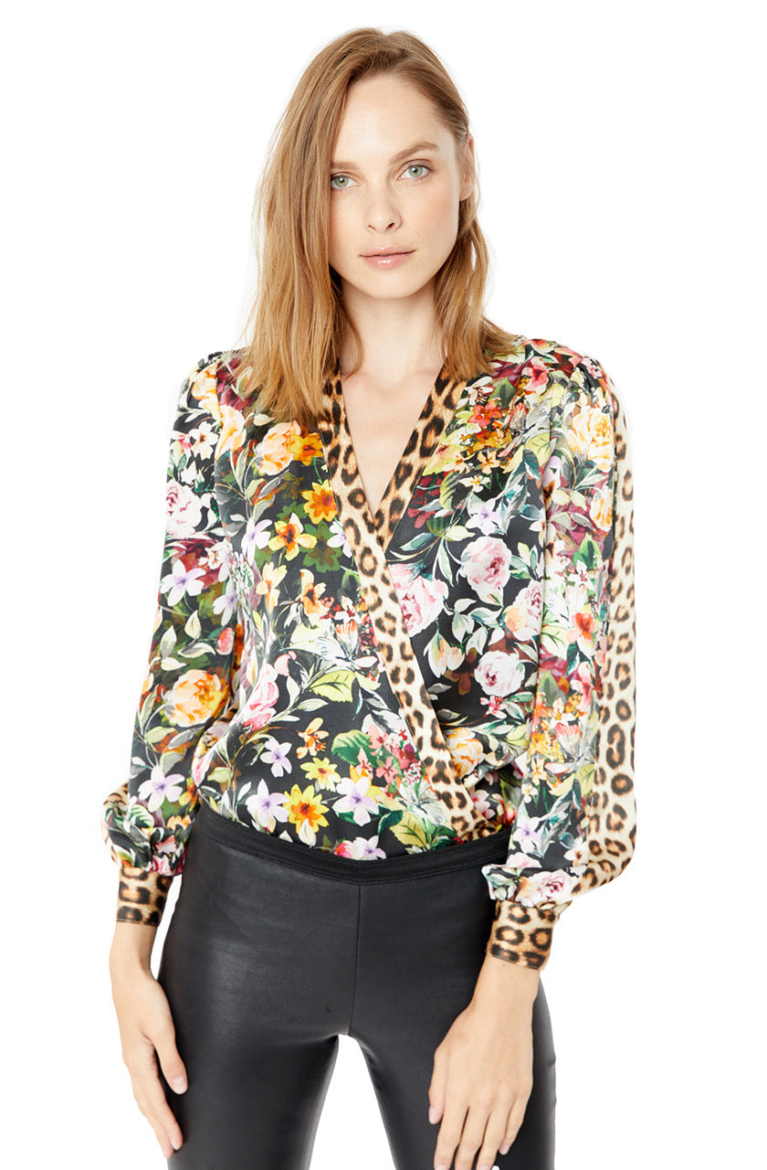 Generation Love Kenzie Wrap Blouse
