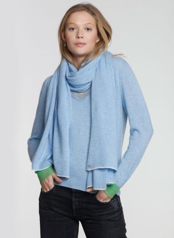 LABEL + thread Luxe-30 Jet Wrap Scarf