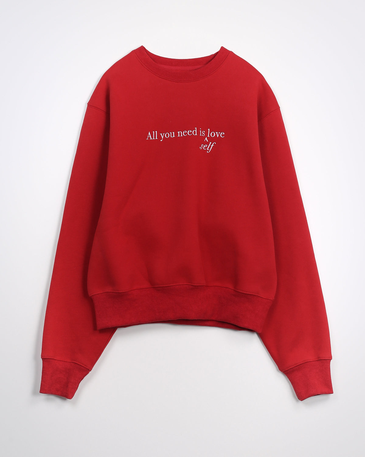 "Brunette The Label ""All You Need"" Sweatshirt"