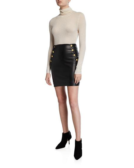 Generation Love Adi Faux Leather Mini Skirt - Izzy & Gab