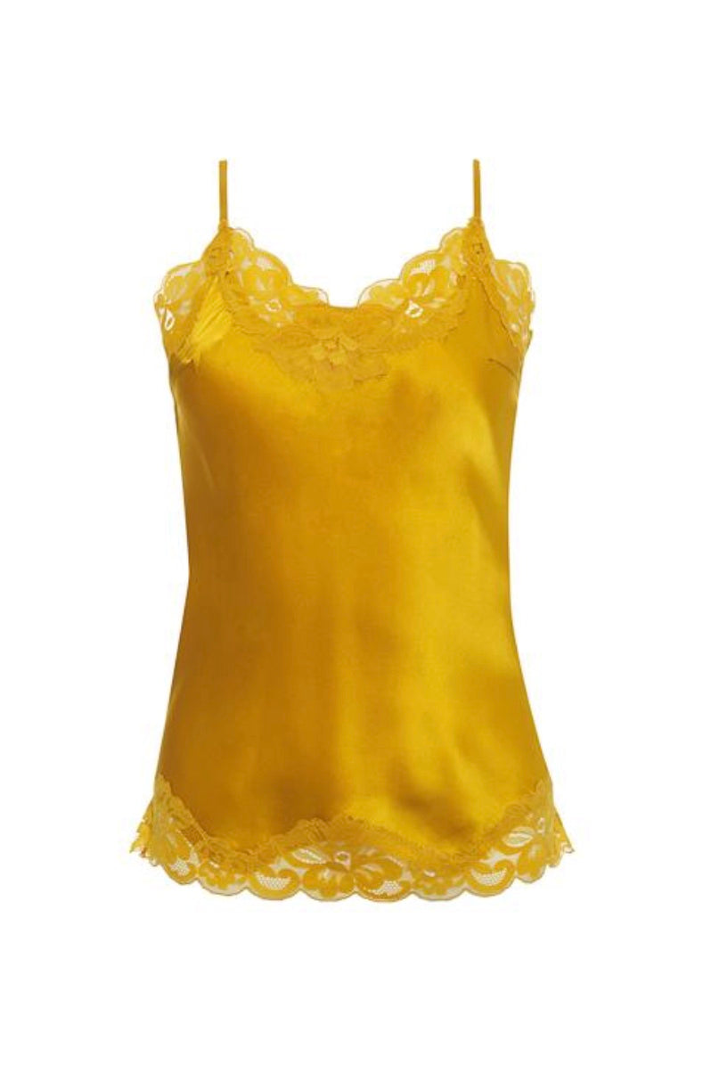 Gold Hawk Floral Lace Cami