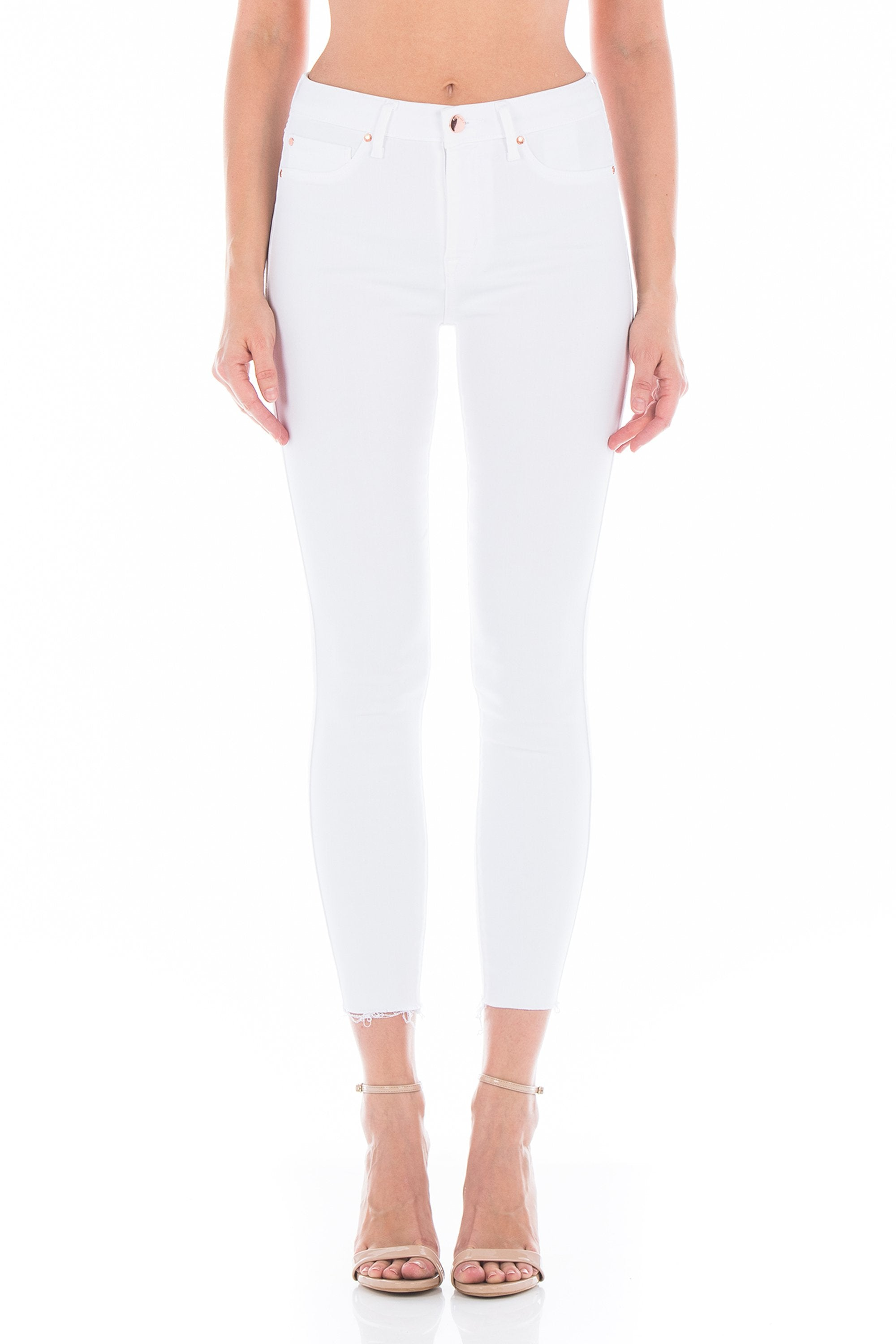 Fidelity Gwen Crop High Rise Skinny Denim - Izzy & Gab