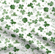 Load image into Gallery viewer, Watercolour shamrock headwrap