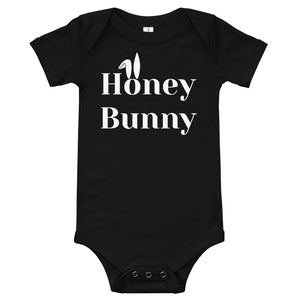 Honey Bunny Baby short sleeve one piece - made to order