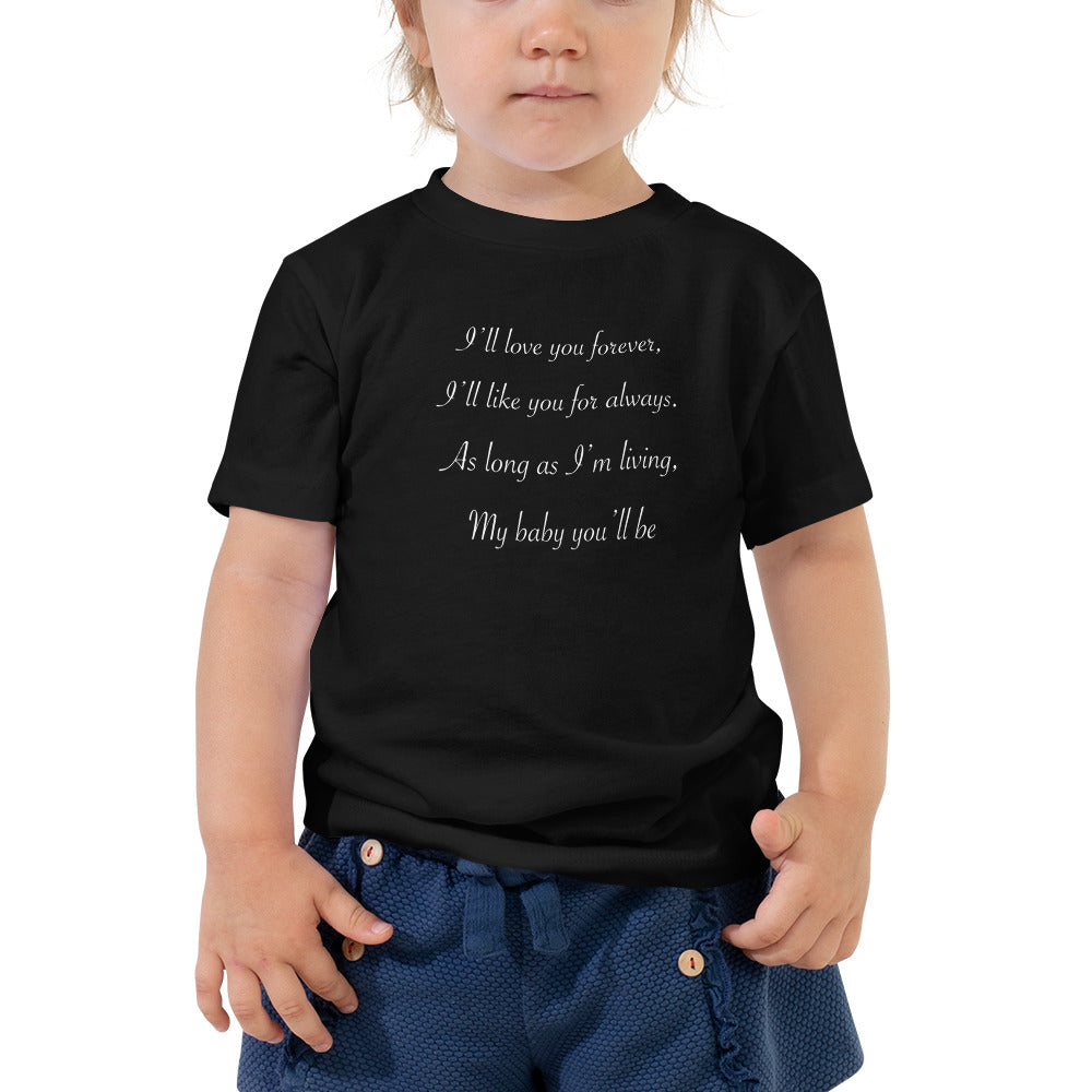 Toddler Short Sleeve Tee- made to order, shipped separate