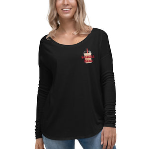 Canadian mama Ladies' Long Sleeve Tee - made to order, shipped separate