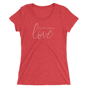 Ladies' short sleeve t-shirt- made to order, ships separate
