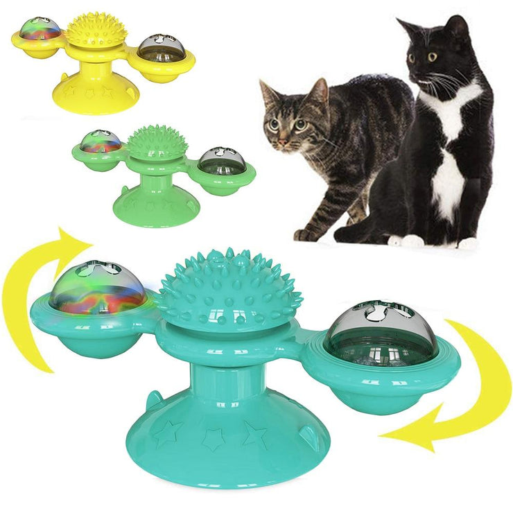 Interactive Rotatable Cat Toy - Pawsomatic
