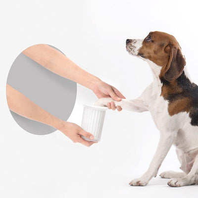 Dog Foot Washer Clean Cup Portable - Pawsomatic